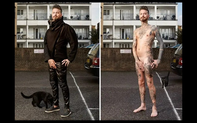 14 personnes tatouées se mettent à nu pour briser les clichés Sans6285