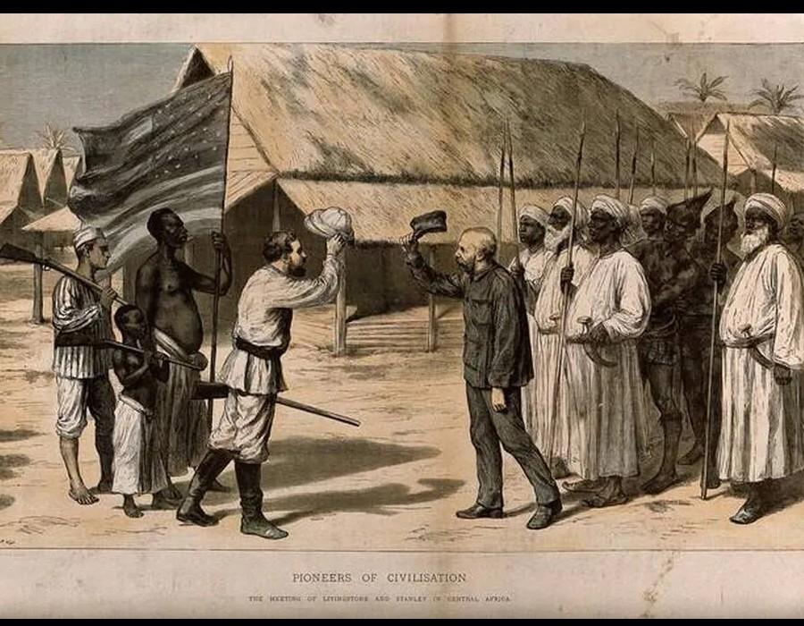 À la recherche du docteur Livingstone au cœur de l'Afrique Sans6396