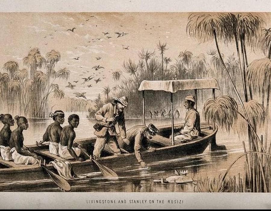 À la recherche du docteur Livingstone au cœur de l'Afrique Sans6400