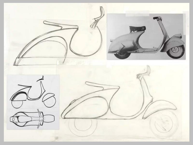 Ce designer réinvente le Vespa avec un concept futuriste et 100% électrique Sans_253