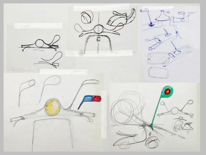 Ce designer réinvente le Vespa avec un concept futuriste et 100% électrique Sans_255