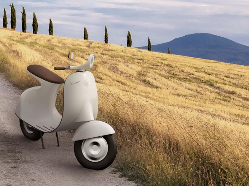 Ce designer réinvente le Vespa avec un concept futuriste et 100% électrique Sans_256