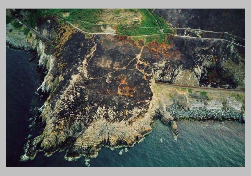 Irlande : un vestige de la Seconde Guerre mondiale révélé par un incendie  Sans_280