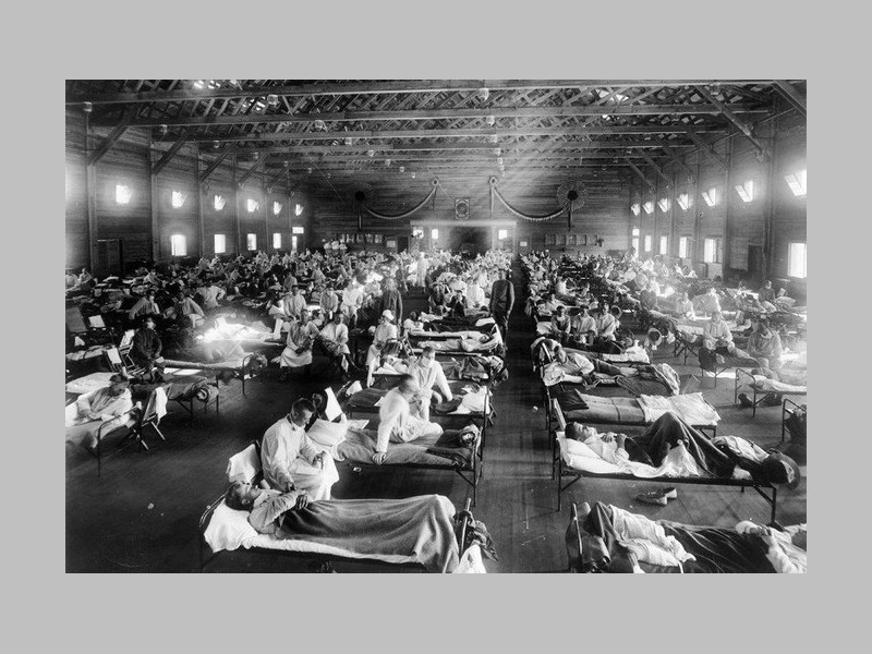 Il y a 100 ans, la grippe « espagnole » s'abattait sur le monde Sans_467