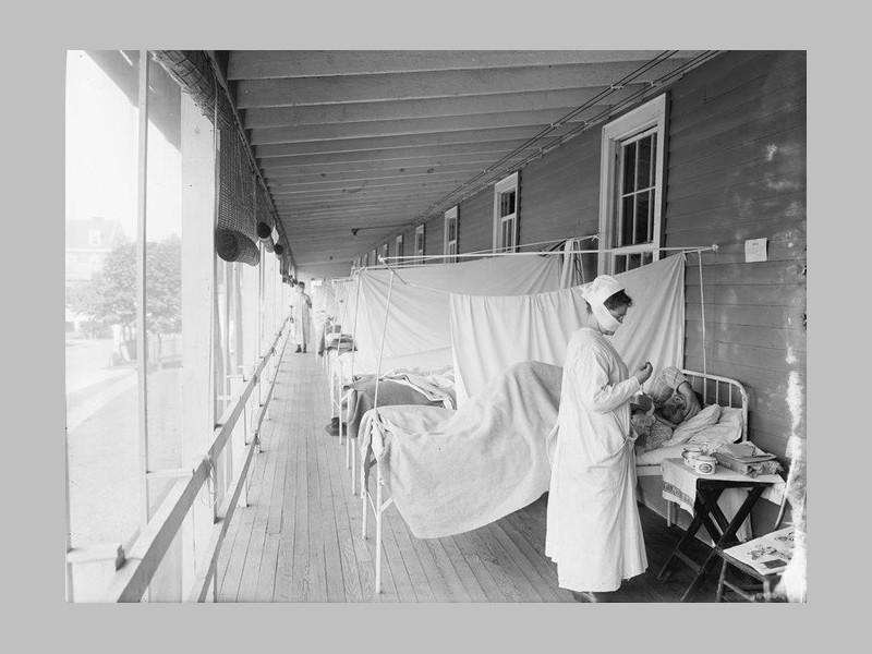 Il y a 100 ans, la grippe « espagnole » s'abattait sur le monde Sans_471