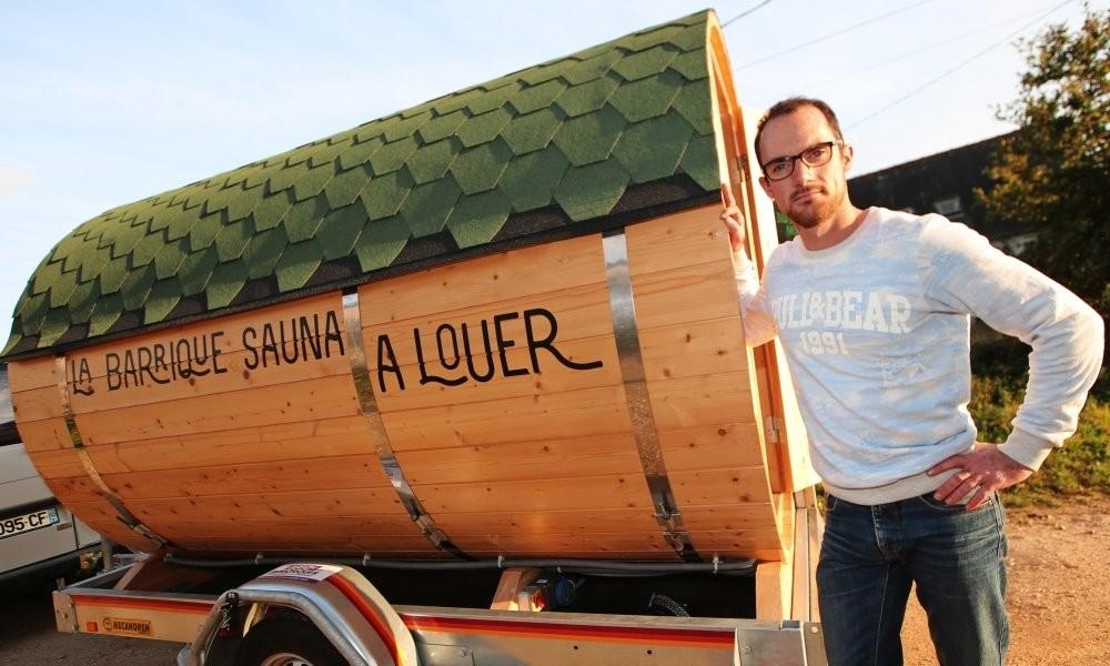 Insolite. Le sauna sur roues… à domicile Sans_544