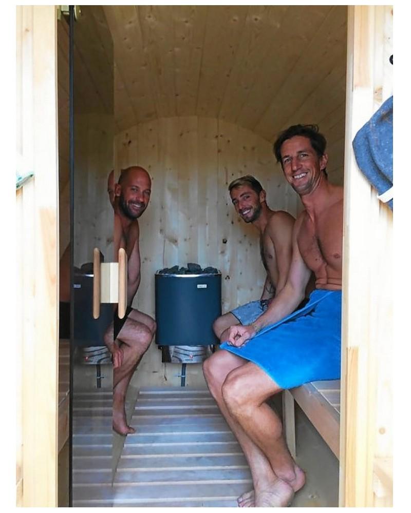 Insolite. Le sauna sur roues… à domicile Sans_545