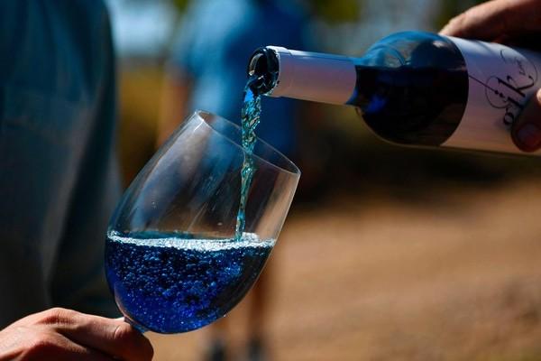 Le vin bleu, la boisson qui fait hurler les sommeliers Sans_551