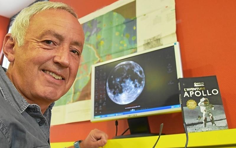 Charles Frankel. L'ami des astronautes qui ont marché sur la Lune Sans_589