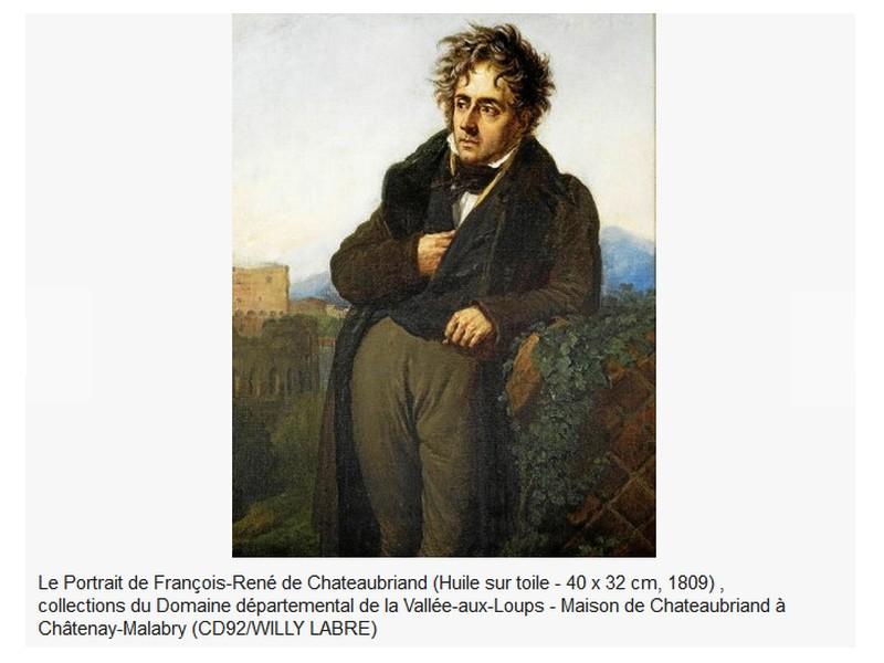 Chateaubriand. Breton, royaliste et précurseur du romantisme  Sans_667