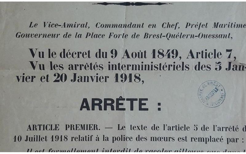 1914-1918 - une étude inédite sur les prostituées dans le Finistère  Sans_881
