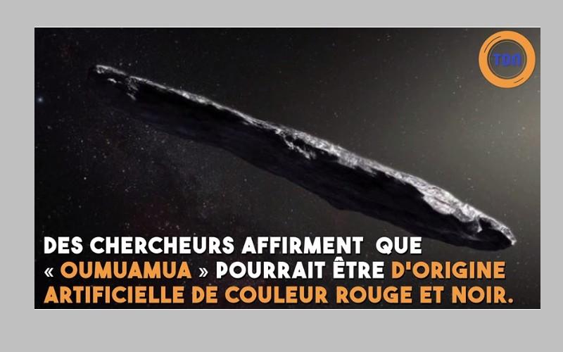 Des scientifiques de Harvard n'excluent pas que « Oumuamua » soit une sonde extraterrestre envoyée pour espionner la Terre Sans_898