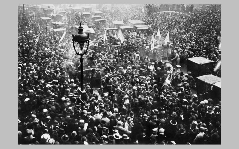 Comment Clemenceau a vécu le 11 novembre 1918 Sans_902