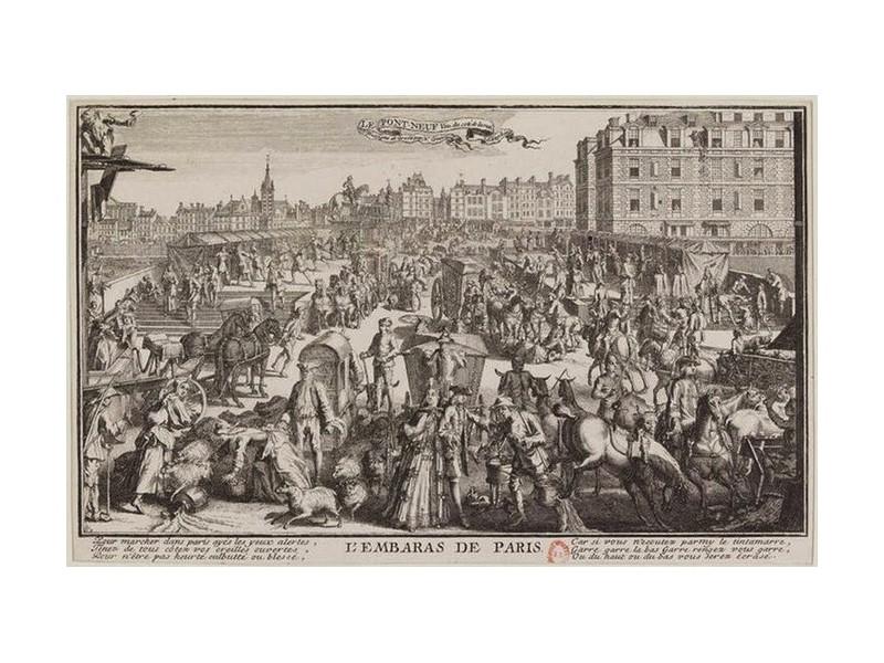 Paris sans voiture, on en rêvait déjà en 1790 Sans_921