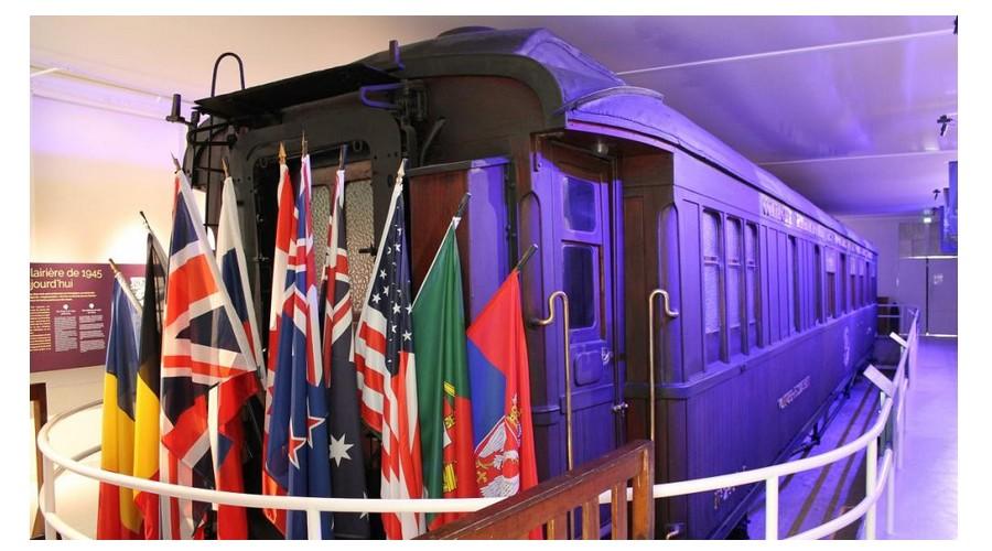 Centenaire du 11 novembre 1918: l'histoire mouvementée du wagon de l'armistice  Sans_925