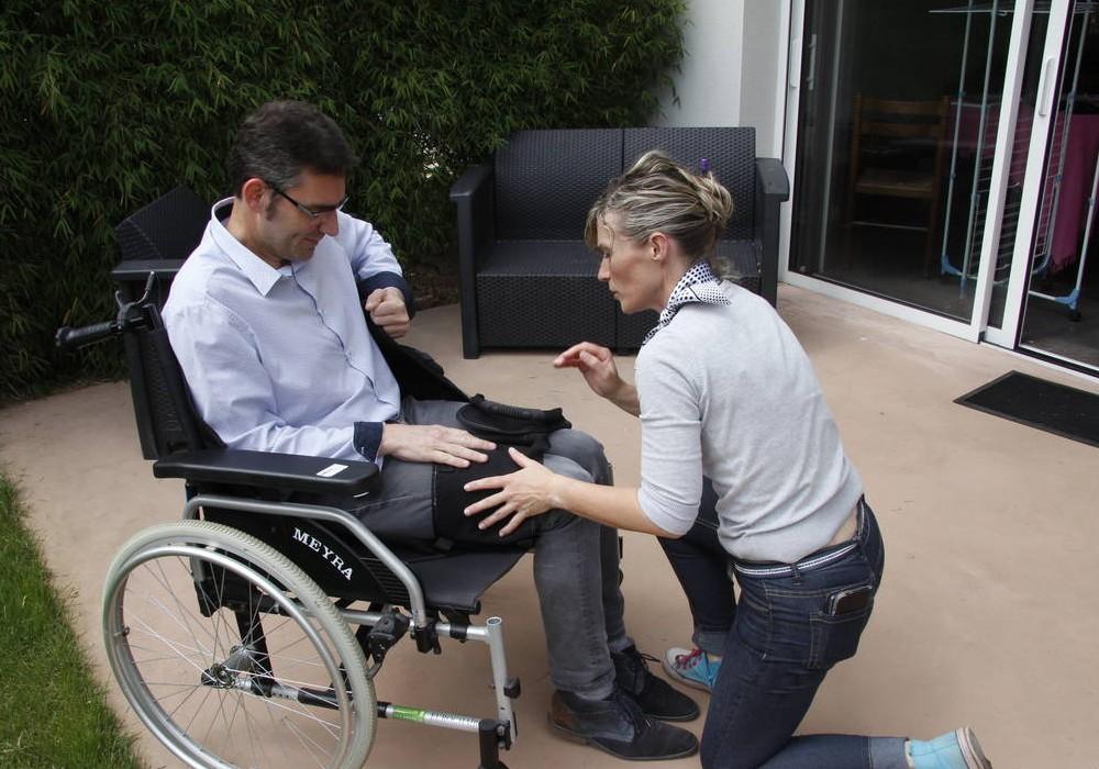 L'INITIATIVE. Lamballe. Il invente un hamac pour les handicapés Sans_t35