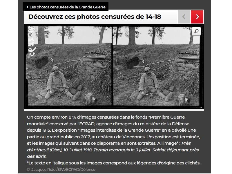 Découvrez ces photos censurées de 14-18 U10