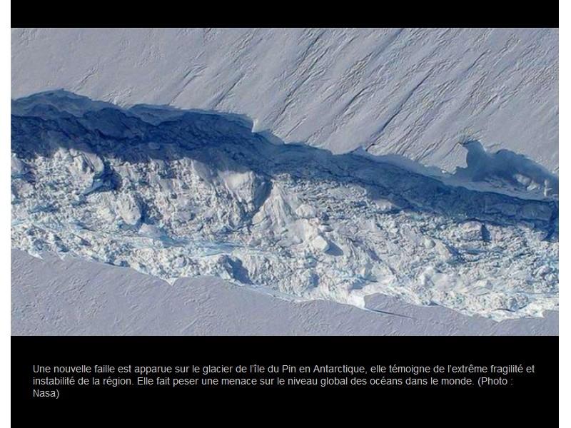 Un nouvel iceberg géant menace de faire monter le niveau des mers Vb11
