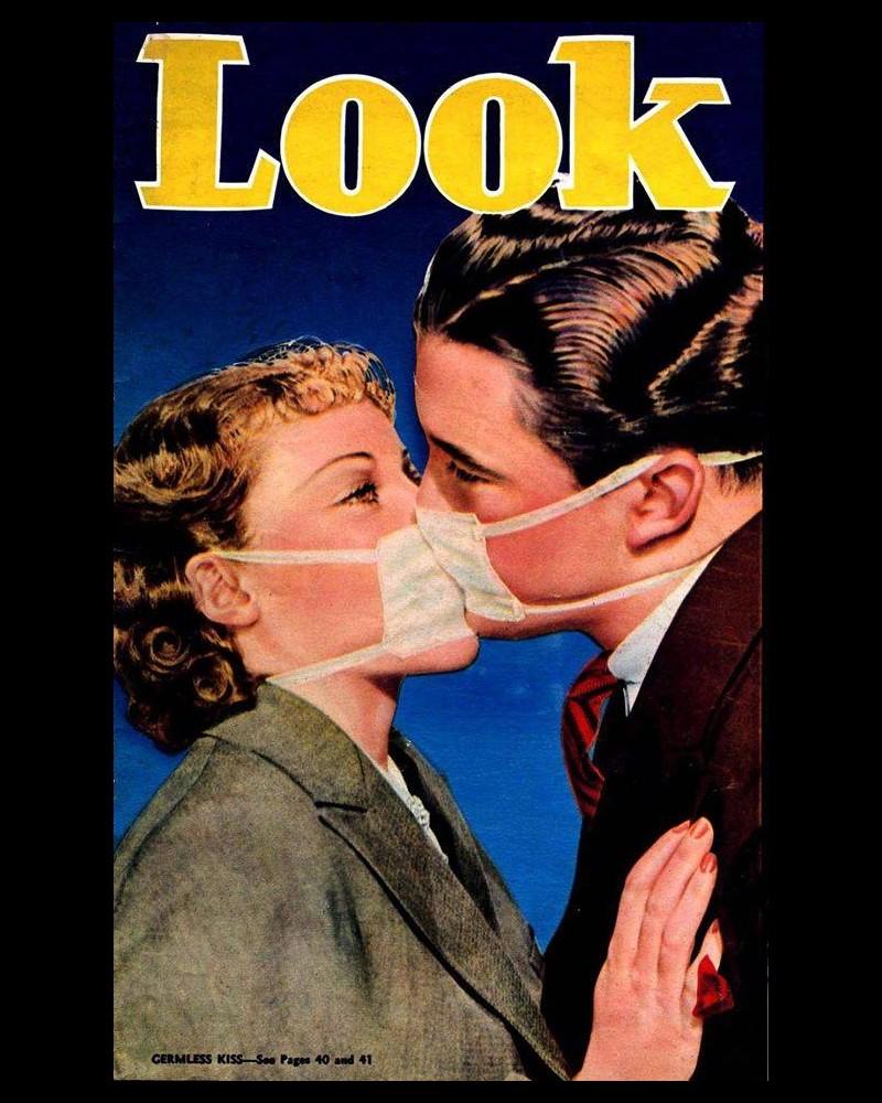 Embrasser pendant une épidémie de grippe Ww13