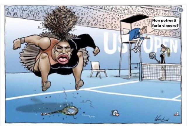 Serena Williams , che vergogna... World-10