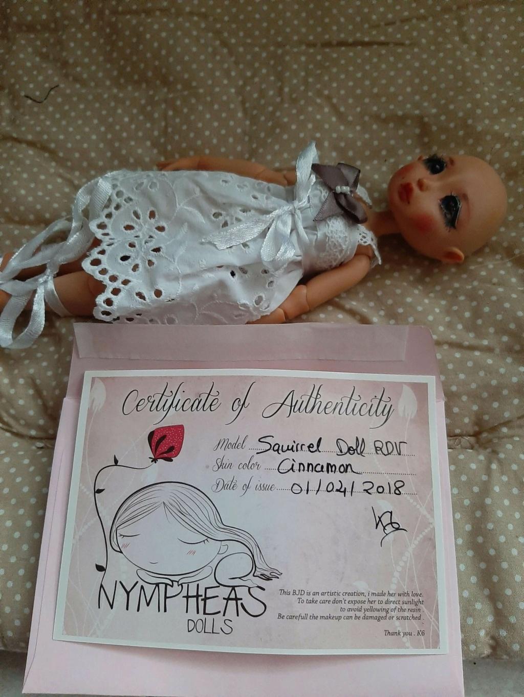A VENDRE bjd nympheas doll NEGOCIABLE  15514511