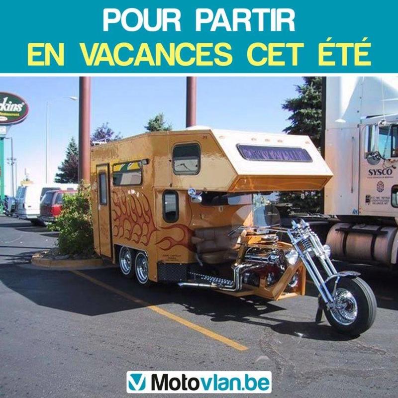 Projet de camping-car - moto embarquée 62597810
