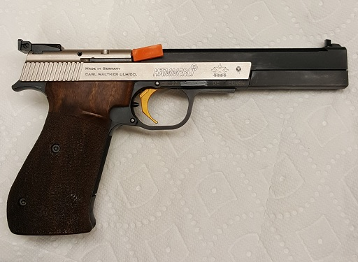 **Sold** Hammerli X-esse Sport 22lr with Large Right grip and LGI trigger 20190316