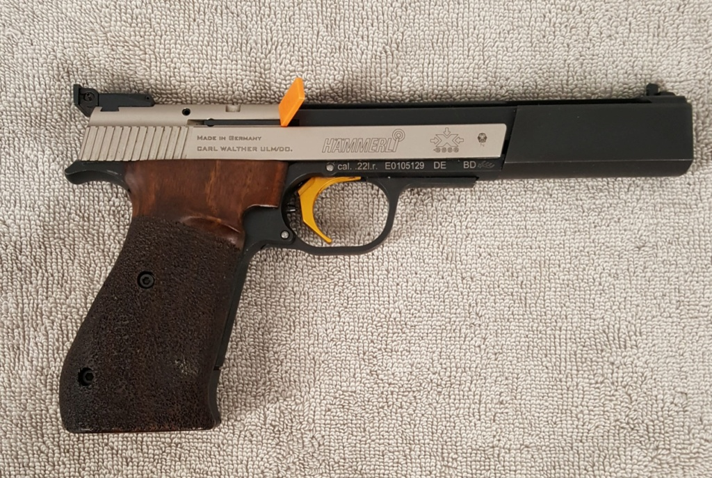 **Sold** Hammerli X-esse Sport 22lr with Large Right grip and LGI trigger 20200610