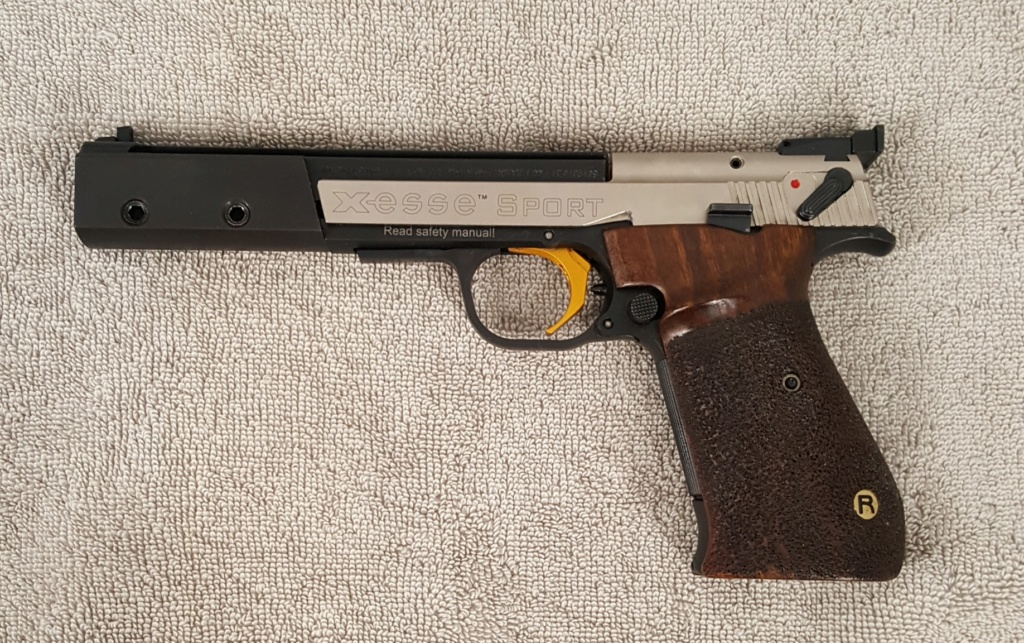 **Sold** Hammerli X-esse Sport 22lr with Large Right grip and LGI trigger 20200611