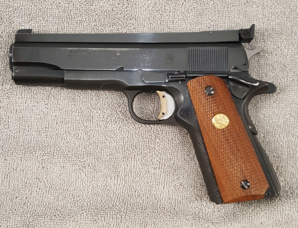 **SOLD** 1975 Clark Custom Heavy Slide 45 Wadgun 20200613