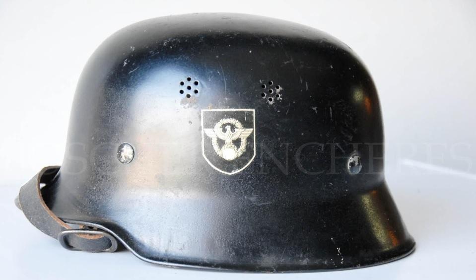 casque police allemande WW2 112