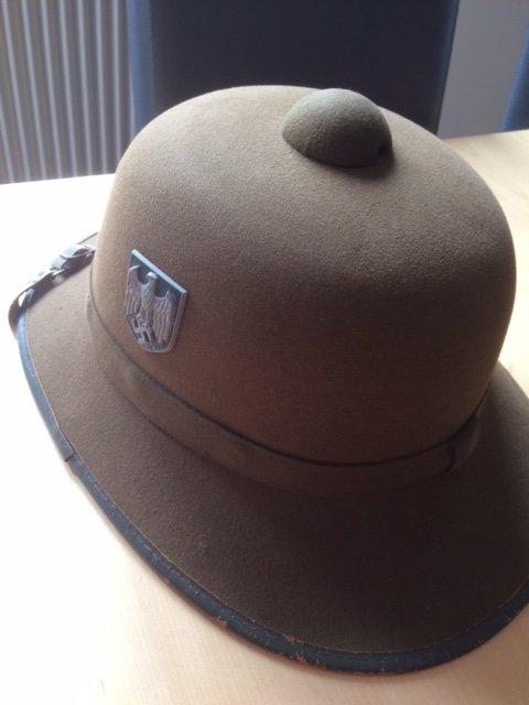casque tropical allemand ww2 1313