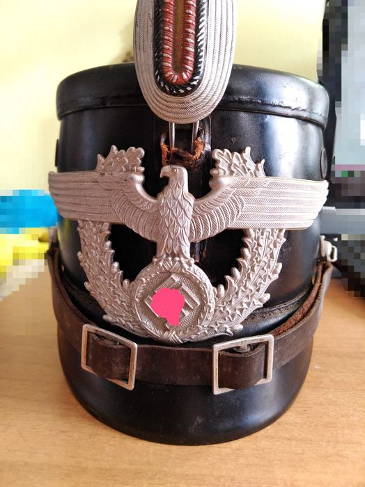 shako police allemande ww2 1810