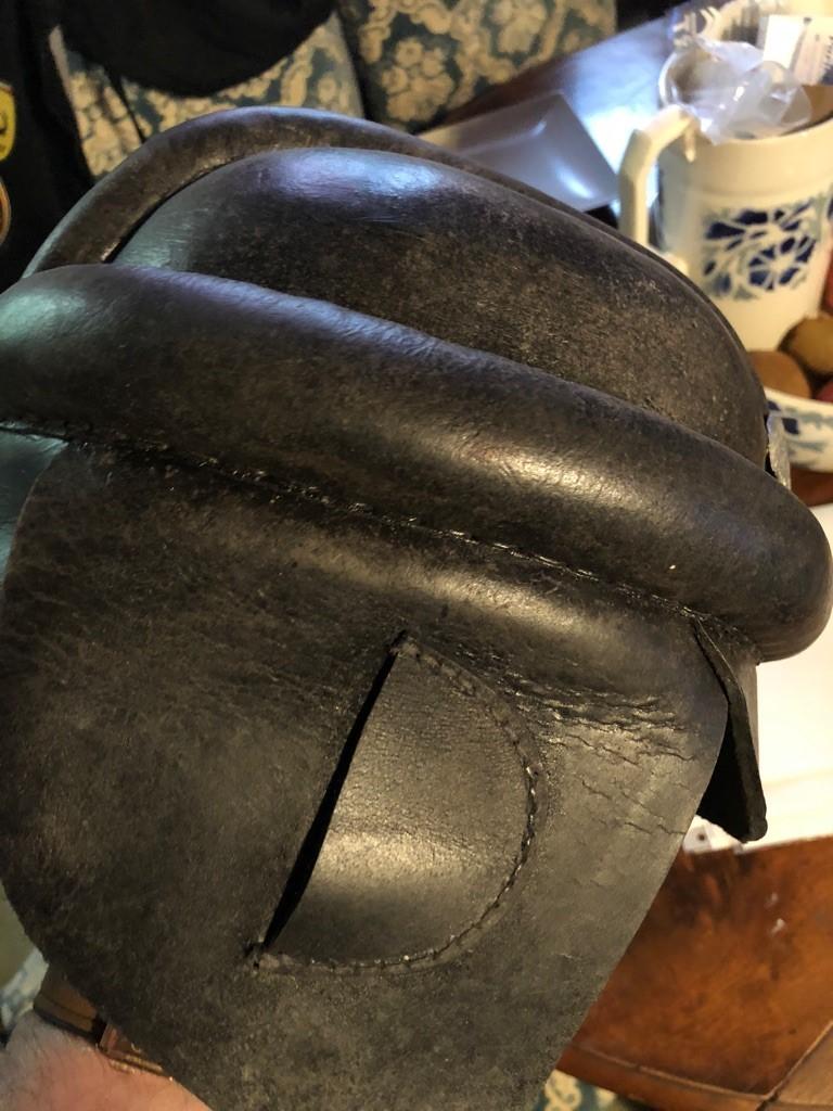 casque motard allemand ww2 613