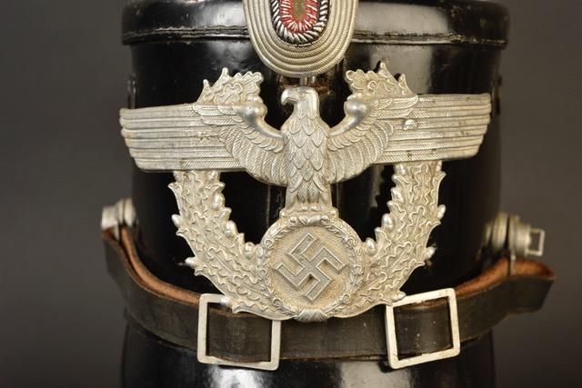 shako police allemande ww2 716