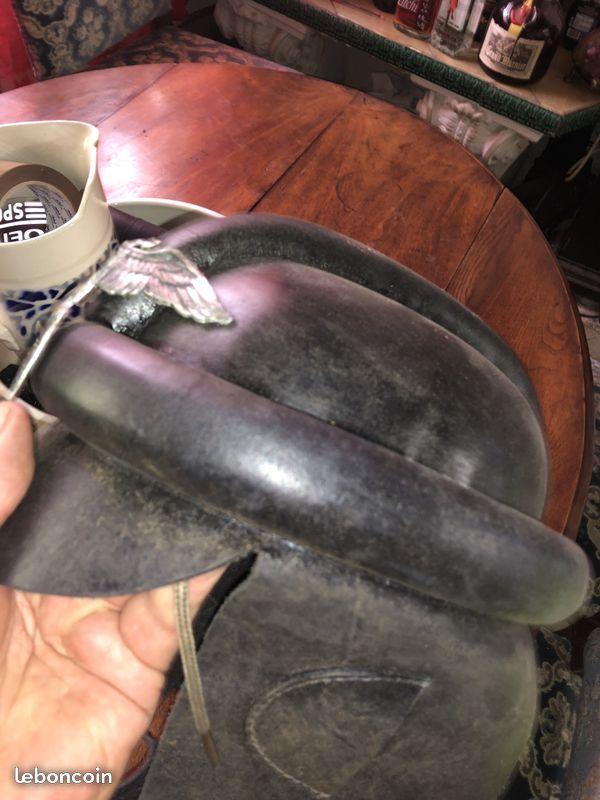 casque motard allemand ww2 814