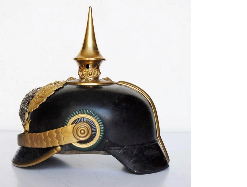 casque officier de Saxe-Weimar, B610