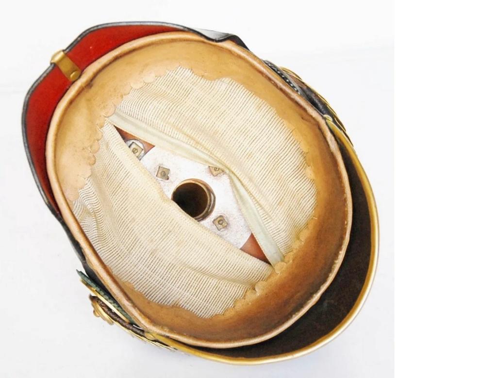 casque officier de Saxe-Weimar, B710