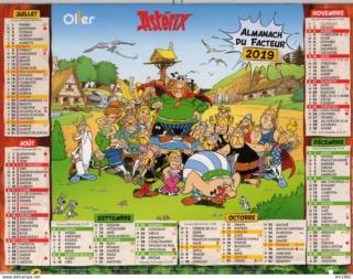 calendrier de la poste 2019 Ptt_2011