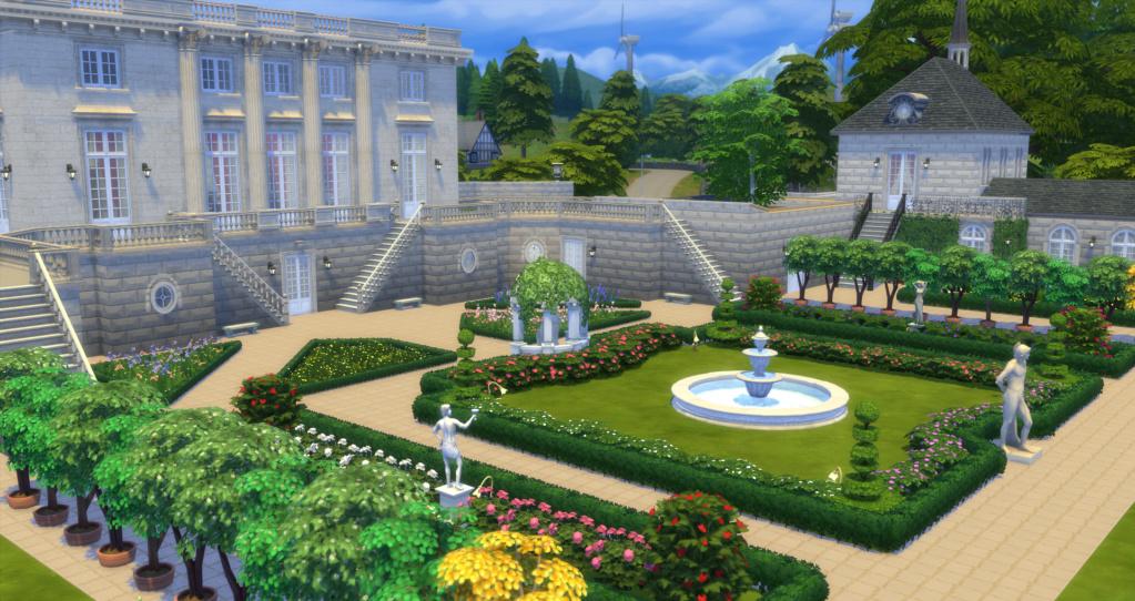 Le Petit Trianon... version Les Sims ! 26-01-10
