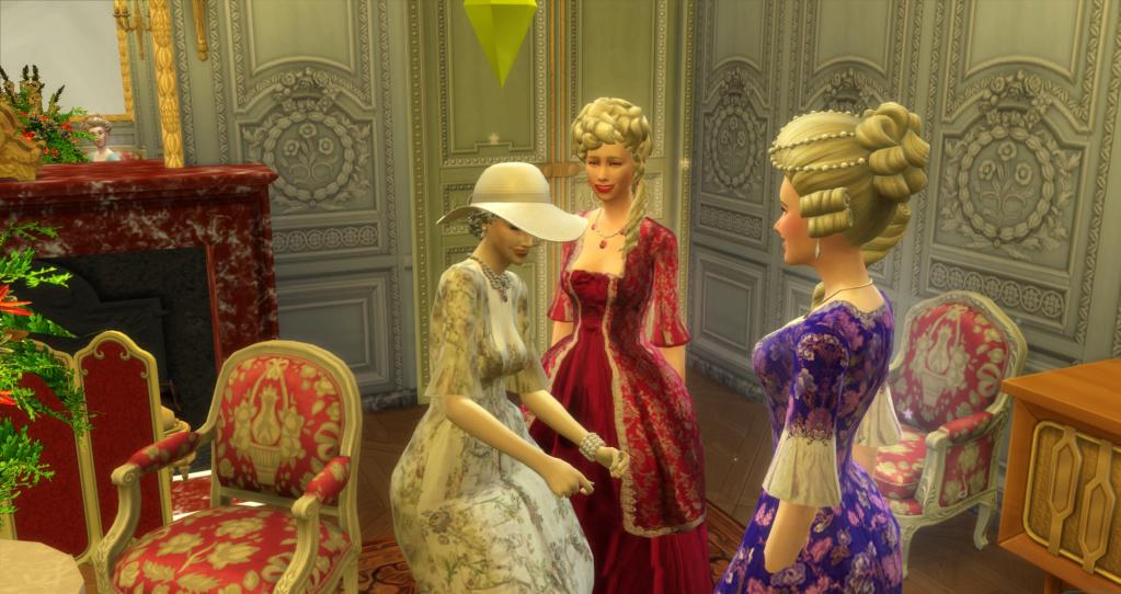 Le Petit Trianon... version Les Sims ! 28-01-10