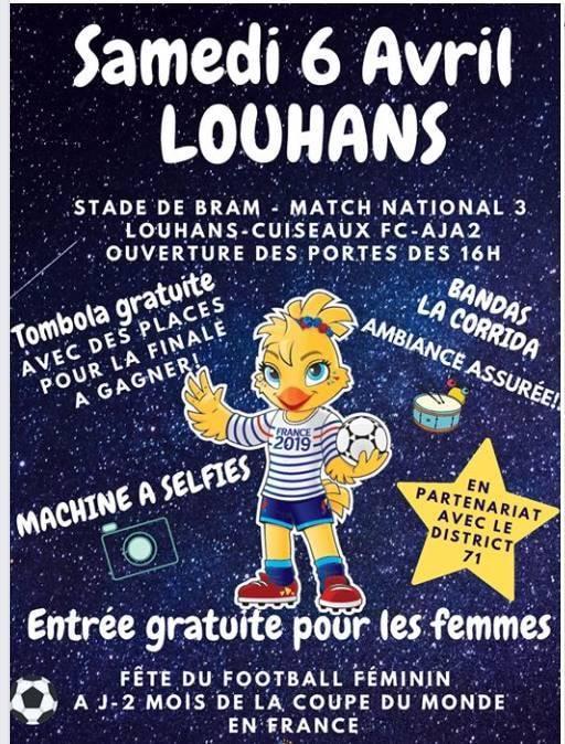 [20ème journée] Louhans-Cuiseaux - Auxerre B 54521010