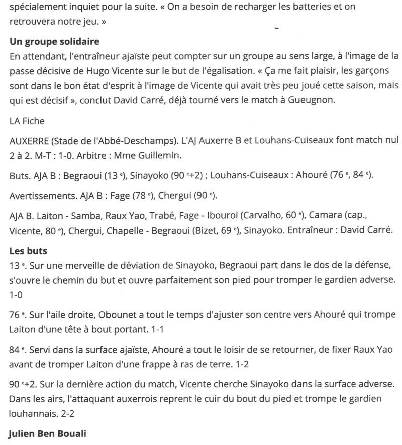 [8ème journée] Auxerre B - Louhans-Cuiseaux - Page 3 Numzor13