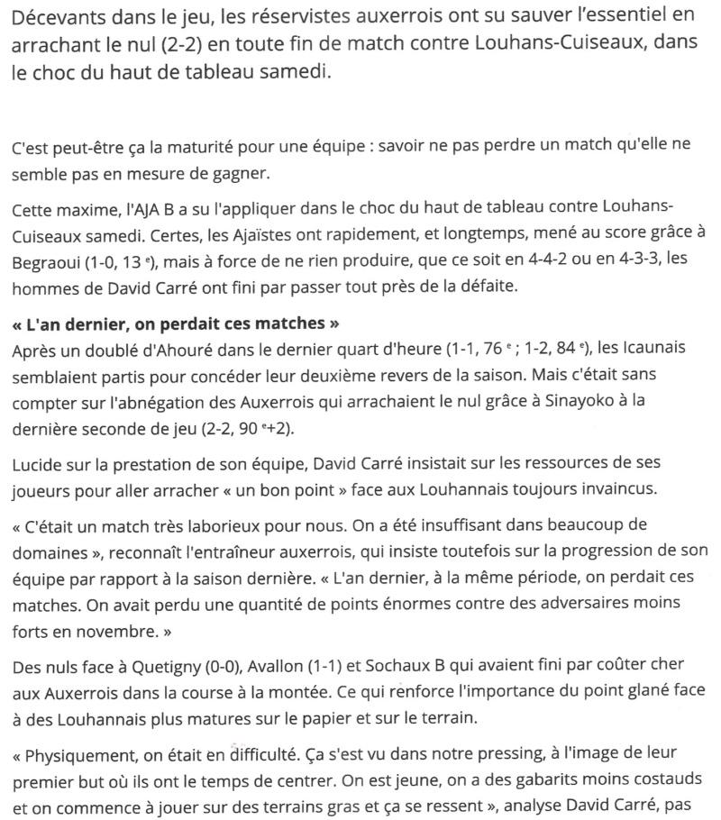 [8ème journée] Auxerre B - Louhans-Cuiseaux - Page 3 Numzor14
