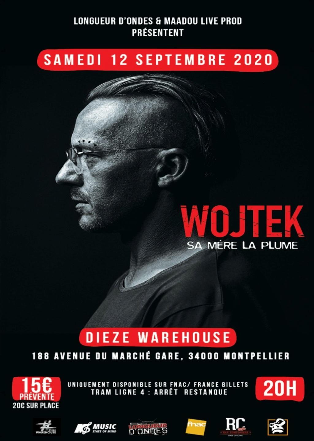 Wojteck, one-man show « Sa mère la plume » le 12 Septembre à Montpellier Visu_w10