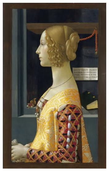Giovanna Tornabuoni, de Domenico Ghirlandaio Giovan10