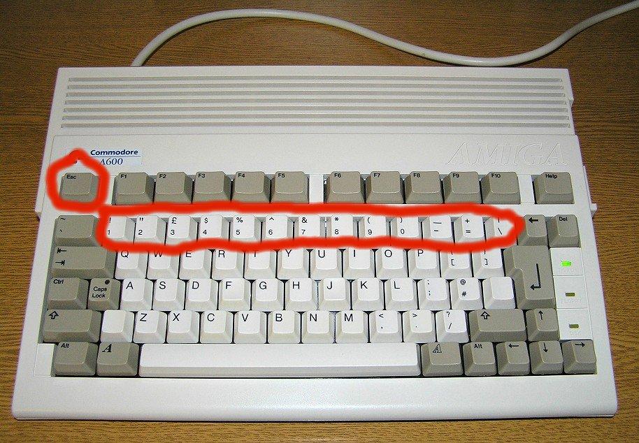 [RECH] Touche simple Amiga 600 Amiga610