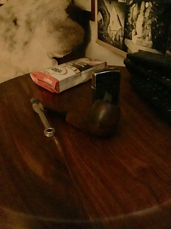14 octobre il fait bon à Paris, on est bien un dimanche matin après un dur labeur à fumer sa pipe Fed7c510