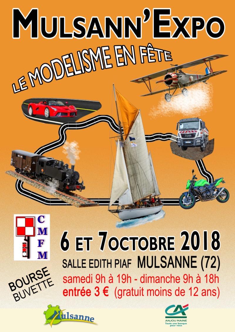 Expo à Mulsanne le 6 et 7 Octobre (à côté du Mans) Affich10