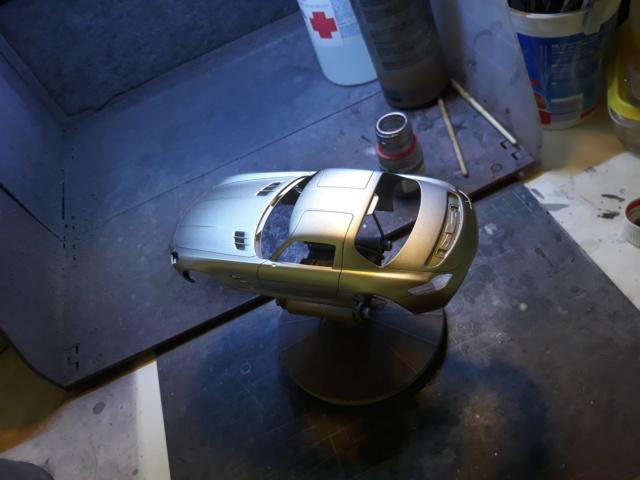 Mercedes  SLS Safety Car + Fotograbados. 20180914